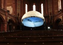 Fulldome in der Lutherkirch Apolda